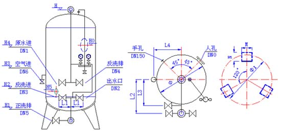 glq型机械过滤器